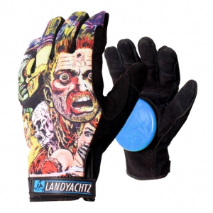 Landyachtz Freeride Comic Book Slide Gloves  Longboard slide Handschuhe   ( L )