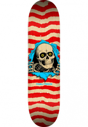 "Powell Peralta 8,5"" Ripper natural-red Skateboard Deck"