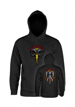 Powell-Peralta Hoodies  Vallely Elephant Gr. L