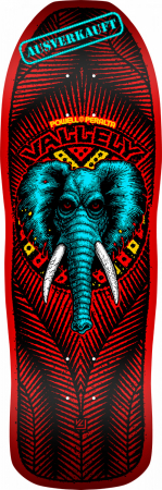 Powell Peralta Vallely Elephant Deck red