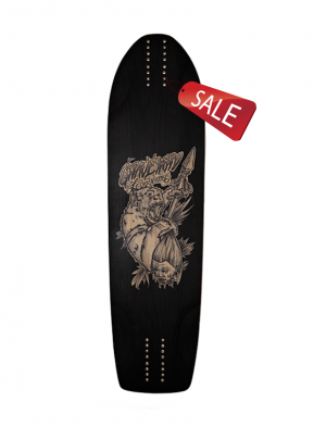 GRAVEYARD / Anthropophagus /93cm /Longboard