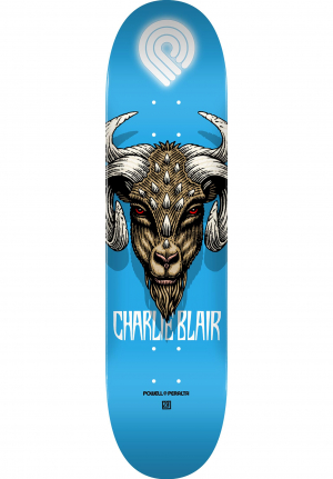 "Powell Peralta 8,0"" Charlie Blair Goat Popsicle  blue"
