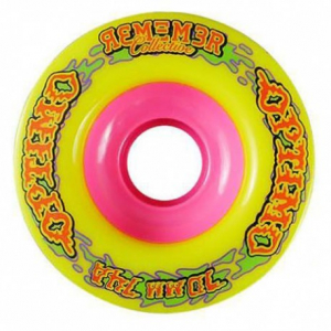 Remember Optimo Wheels Longboard Rollen 74a Yellow