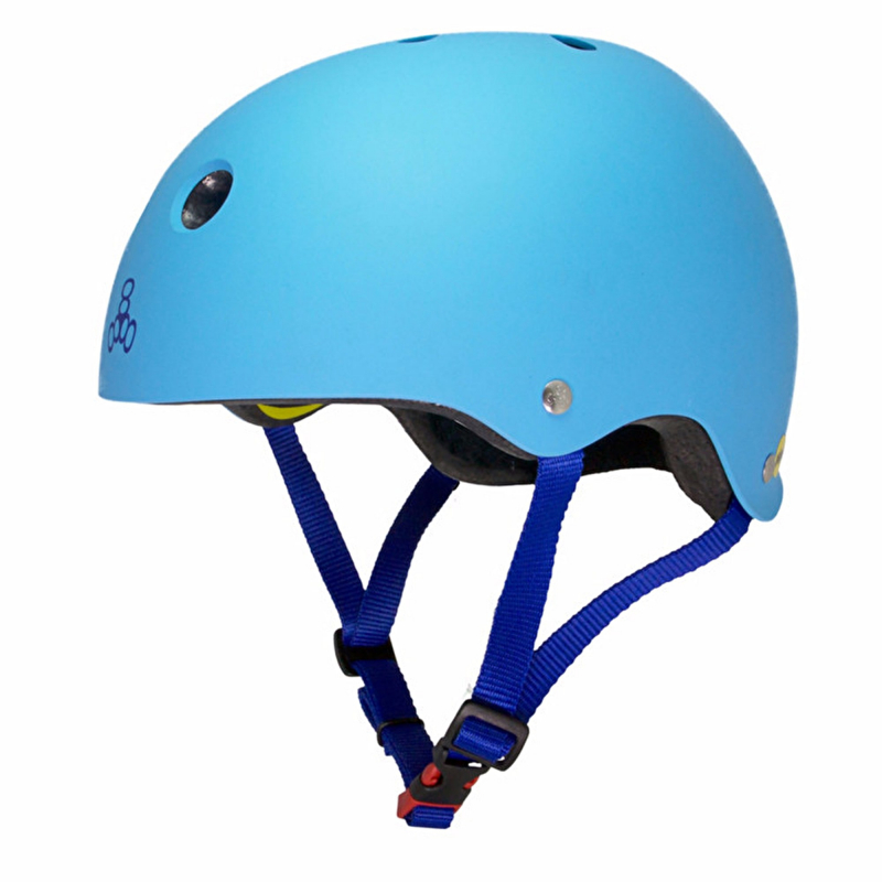 Triple 8 Brainsaver MIPS Helm - Hyper Blue XS/S