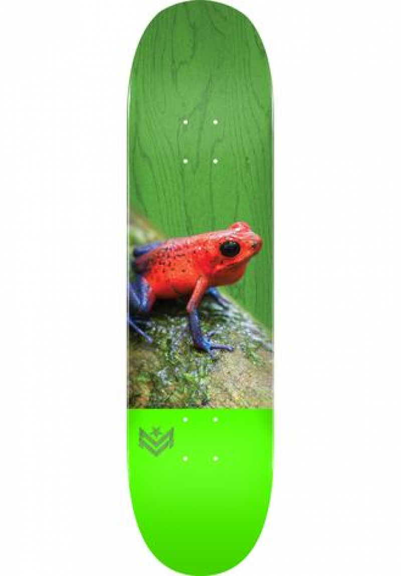 "Mini-Logo 8,0""  Poison  Frog16  Skateboard Deck only"